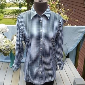 BROOKS BROTHERS 1818 FITTED BUTTON DOWN SHIRT